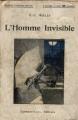 Couverture L'homme invisible Editions Calmann-Lévy 1910