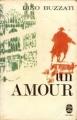 Couverture Un amour  Editions Le Livre de Poche 1967
