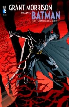 Couverture Grant Morrison présente Batman, tome 1 : L'héritage maudit