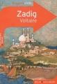 Couverture Zadig / Zadig ou la destinée Editions Belin / Gallimard (Classico - Lycée) 2010