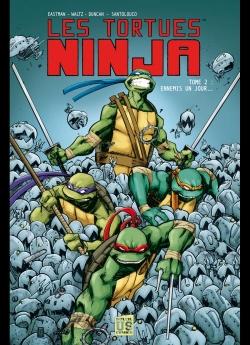 Couverture Les Tortues Ninja, tome 2 : Ennemis d'un jour...