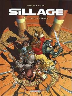 Couverture Sillage, tome 04 : La Marque des Démons