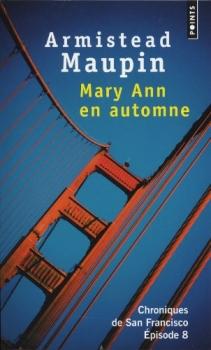 Couverture Chroniques de San Francisco, tome 8 : Mary Ann en automne