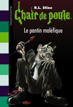 Couverture Chair de poule, tome 14 : Le Pantin maléfique