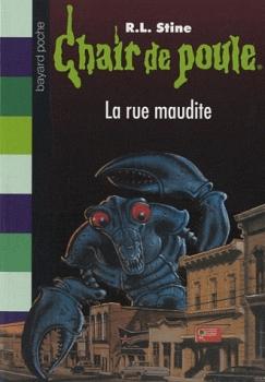 Couverture Sensations fortes, rue du choc ! / La rue maudite