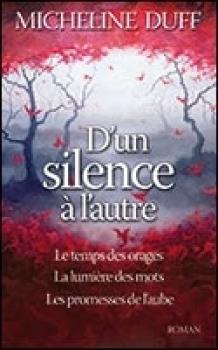 Couverture D'un silence à l'autre