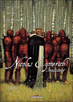 Couverture Nicolas Eymerich inquisiteur (BD), tome 2 : La déesse partie 2