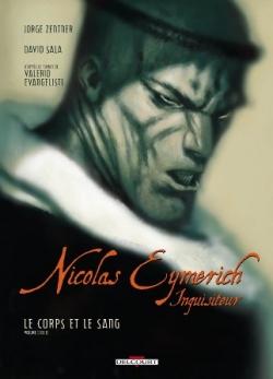 Couverture Nicolas Eymerich inquisiteur (BD), tome 4 : Le corps et le sang partie 2