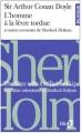 Couverture Une affaire d'identité et autres aventures de Sherlock Holmes Editions Folio  (Bilingue) 1996