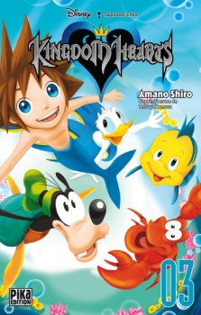 Couverture Kingdom Hearts, tome 3