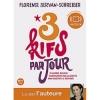 Couverture 3 Kifs Par Jour Editions Marabout (Psychologie) 2011