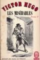 Couverture Les Misérables (3 tomes), tome 1 Editions Le Livre de Poche (Classique) 1963