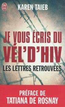 Couverture Je vous écris du Vel d'Hiv : Les lettres retrouvées