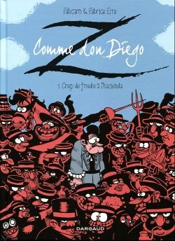 Couverture Z comme Don Diego, tome 1 : Coup de foudre à l'hacienda