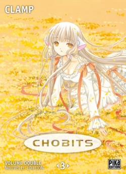 Couverture Chobits, double, tome 3