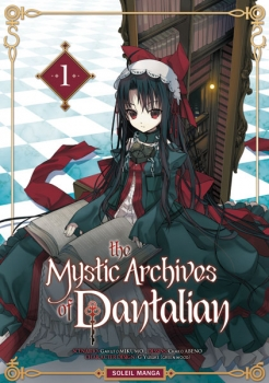 Couverture The Mystic Archives of Dantalian, tome 1