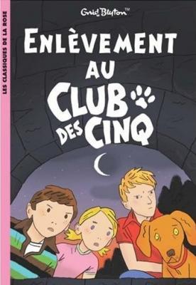 Couverture Enlèvement au club des cinq