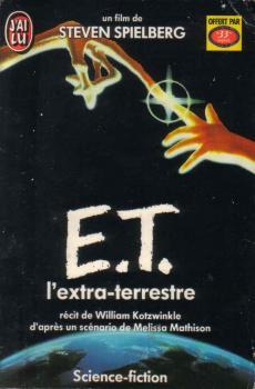 Couverture E.T. l'extra-terrestre