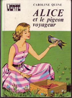 Couverture Alice et le Pigeon Voyageur
