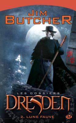 Couverture Les dossiers Dresden, tome 02 : Lune enragée / Lune fauve