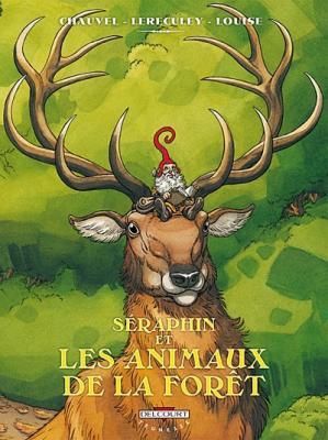 Couverture Séraphin et les animaux de la forêt