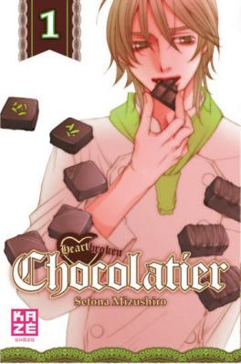 Couverture Heartbroken Chocolatier, tome 1
