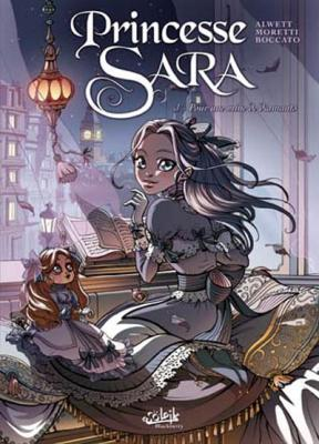 Couverture Princesse Sara, tome 1 : Pour une mine de diamants