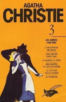 Couverture Agatha Christie, tome 03 : Les Années 1930-1933
