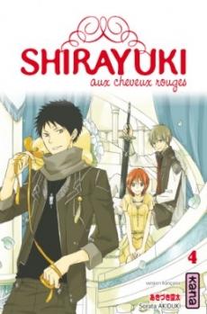 Couverture Shirayuki aux cheveux rouges, tome 04