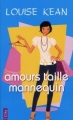Couverture Amours Taille Mannequin Editions City (Poche) 2008