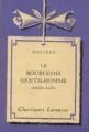 Couverture Le bourgeois gentilhomme Editions Larousse (Classiques) 1933
