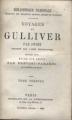 Couverture Les voyages de Gulliver Editions Librairie de la Bibliothèque Nationale 1865