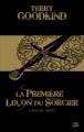 Couverture L'épée de vérité, tome 01 : La première leçon du sorcier Editions Bragelonne (10e anniversaire) 2012