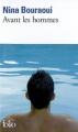 Couverture Avant les hommes Editions Folio  2009