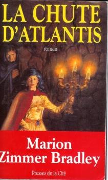 Couverture La chute d'Atlantis