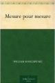 Couverture Mesure pour mesure Editions Public Domain Books 2010