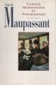 Couverture Farces Normandes et Parisiennes Editions France Loisirs 1993