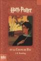 Couverture Harry Potter, tome 4 : Harry Potter et la coupe de feu Editions Folio  (Junior) 2008
