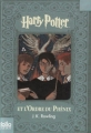 Couverture Harry Potter, tome 5 : Harry Potter et l'ordre du phénix Editions Folio  (Junior) 2008