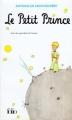 Couverture Le petit prince Editions Folio  1999