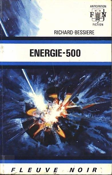 Couverture Dan Seymour, tome 7 : Énergie-500