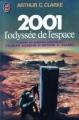 Couverture 2001 : L'odyssée de l'espace Editions J'ai lu 1977