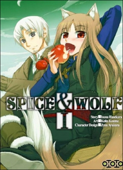 Couverture Spice & Wolf, tome 01