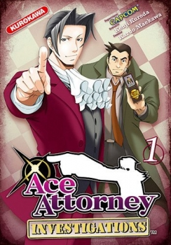 Couverture Ace Attorney : Investigations, tome 1