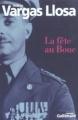 Couverture La Fête au bouc Editions Gallimard  2004