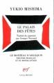 Couverture Le palais des fêtes Editions Gallimard  (Le manteau d'Arlequin) 1983