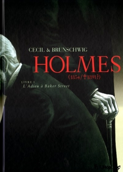 Couverture Holmes (1854/+1891?), tome 1 : Adieu à Baker Street