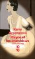 Couverture Phryne et les anarchistes Editions 10/18 (Grands détectives) 2007