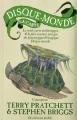 Couverture La carte du Disque-Monde Editions L'Atalante (La Dentelle du cygne) 2009