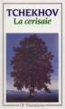 Couverture La cerisaie Editions Flammarion (GF) 1988